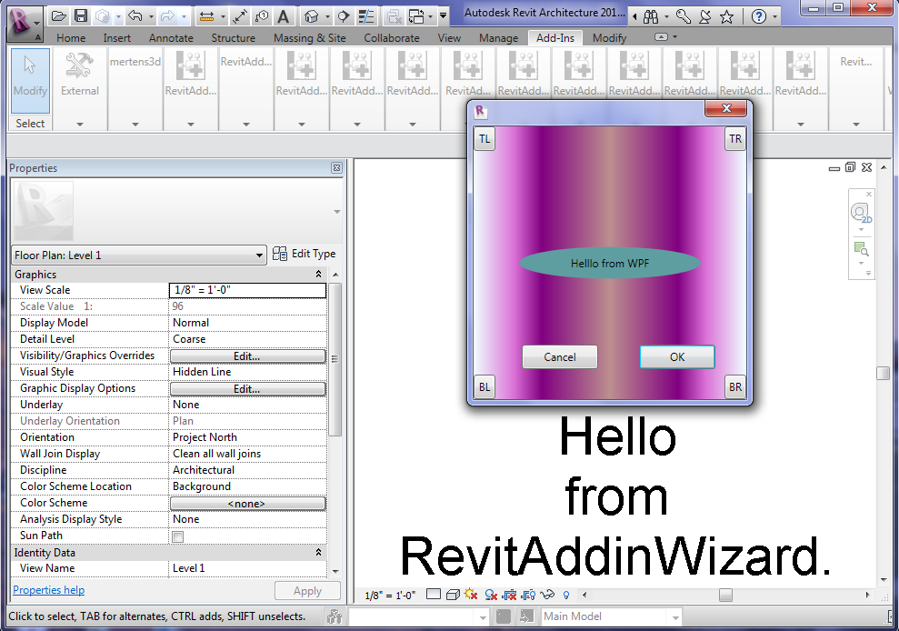 WPF and Revit Addin/API: Make WPF Window and Button Fancy
