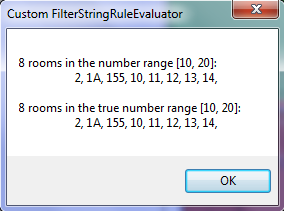 CustomFilterStringRuleEvaluator