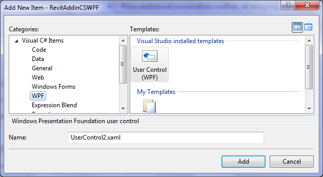 WPF and Revit Addin/API: Popup WPF Window from External