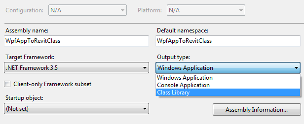 WPF and Revit Addin/API: Convert WPF Application to Revit