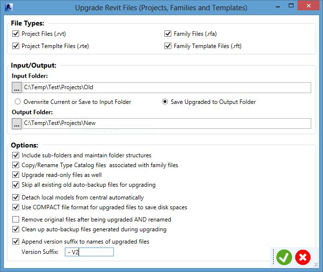 Revit Project Organizer Project Setup Toolset Upgrader