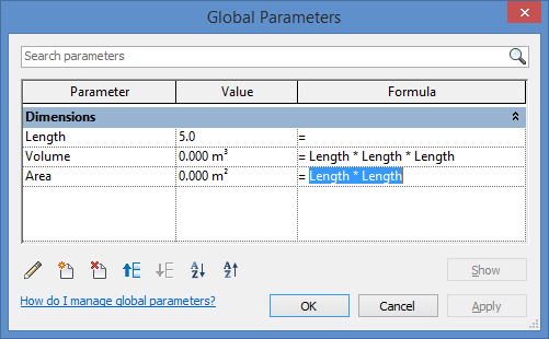 Fatal Problem with Revit Global Parameters